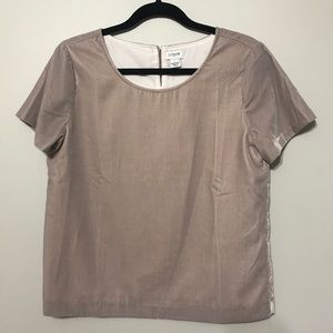 Blush Velour Top